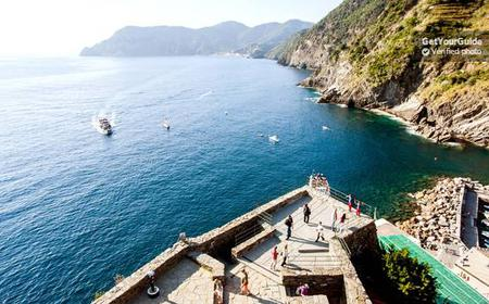 Cinque Terre: Full-Day Train & Boat Tour from Florence