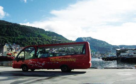 24 Hour Bergen Hop-on Hop off Sightseeing Tour
