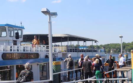 Wannsee to Potsdam: Boat Cruise + Guaranteed Seating