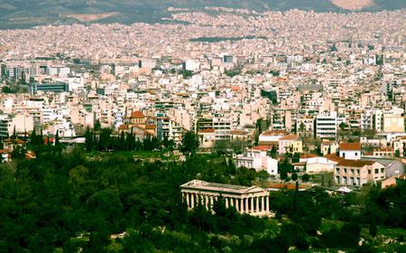 Athens: Food & Modern Culture Private Walking Tour