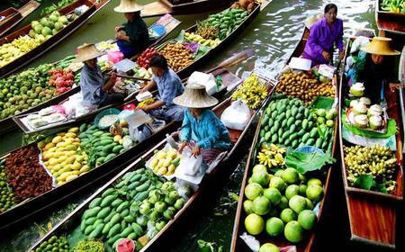From Bangkok: Half-Day Damnoen Saduak Floating Market