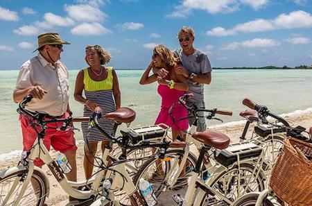 Bonaire Shore Excursion: Electric Bike Tour of the South