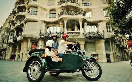 Barcelona by Sidecar Motorcycle Tour