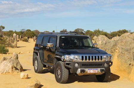 Pinnacles 4WD Hummer Day Tour from Perth Including Moore River, Guilderton, Cervantes and Caversham Wildlife Park