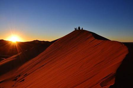 Overnight Camel Trek Tour to the Sahara Erg Chebbi dunes from Merzouga