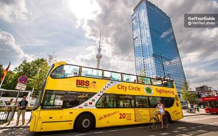 Berlin: Hop-on Hop-off Bus Tour Ticket