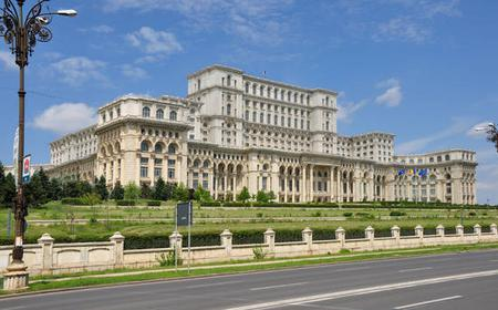 Bucharest: Palace of the Parliament Tour with Pick Up