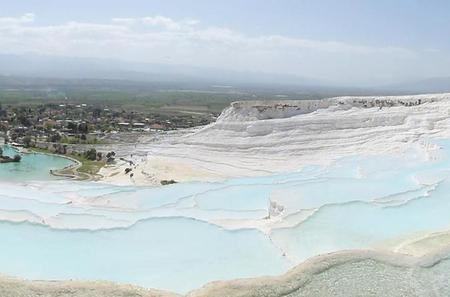 Small-Group Tour: Full-Day Pamukkale Terraces and Hierapolis Ruins From Kusadasi or Selcuk