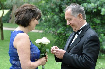 Paris Luxembourg Gardens Wedding Vows Renewal Ceremony with Photo-shoot and Video-shoot