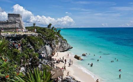 Coba, Tulum, Cenote and Mayan VillageTour
