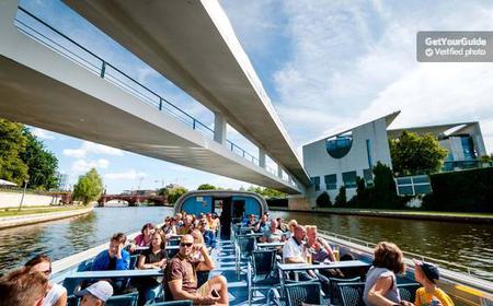Friedrichstraße 4-Hour Spree Boat Tour & Seat Guarantee