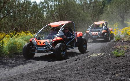 Catania: Half-Day Tour of Volcano Etna by Buggy