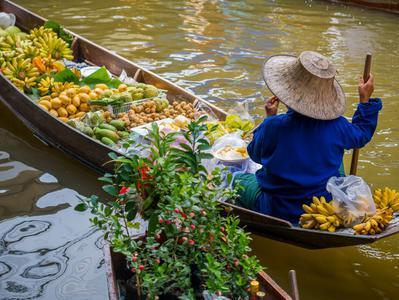 Bangkok Half Day Floating Market Tour