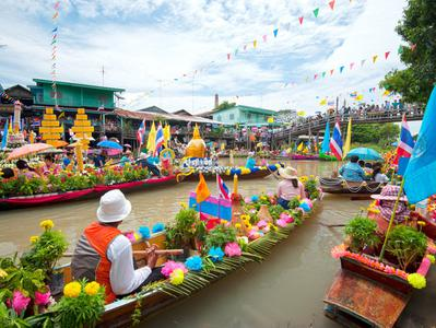 Bangkok Half Day Private Floating Market Tour