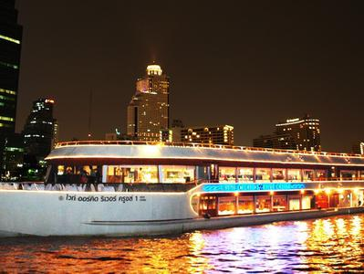 Bangkok Private Evening Dinner Cruise with White Orchid River Cruise