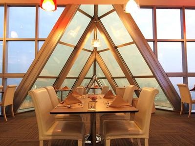 Bangkok Sky Restaurant Buffet Dinner with Revolving View Point Admission