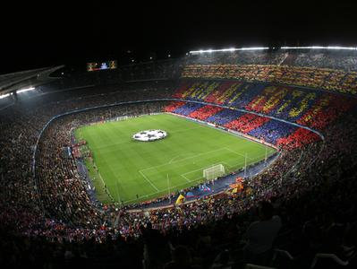 FC Barcelona Football Game Tickets at Camp Nou Stadium