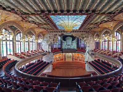 Palau de la Musica Catalana Ticket and Guided Visit