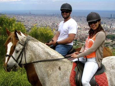 Horseback riding in Natural Parks with Optional Wine & Cava Tasting in Penedes - Small Groups