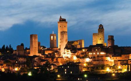 Siena & San Gimignano by Night: Tour with Dinner