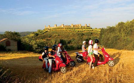 Tuscan Hills: 8-Hour Scenic Vespa Tour