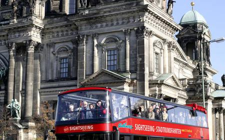 Berlin: Hop-On Hop-Off City Bus Tour With Boat Ride