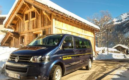 Shared Transfer between Geneva Airport and La Plagne