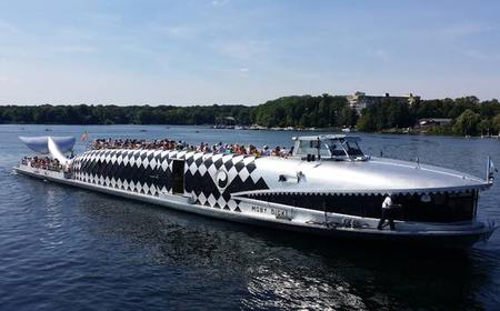 Wannsee 4-Hour Boat Cruise on MS Moby Dick