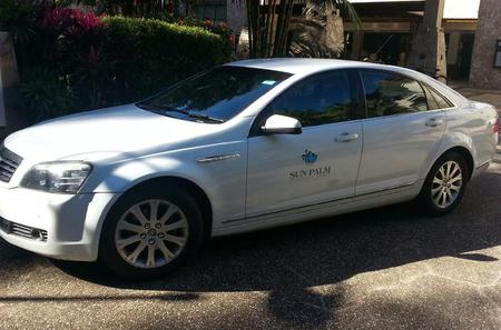 Private Car Arrival Transfer: Cairns Airport to Palm Cove the Northern Beaches or Port Douglas