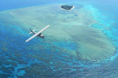 Great Barrier Reef Scenic Flight  from Cairns Including Green Island, Arlington Reef and Michaelmas Cay