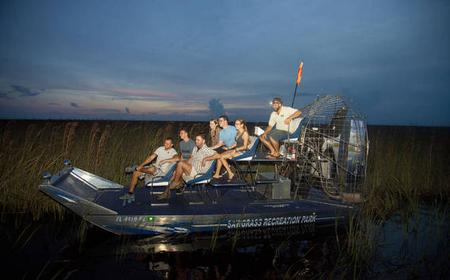 1-Hour Airboat Adventure Night Tour in The Everglades