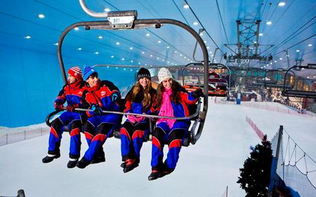 Ski Dubai Power Pass with Attraction Tickets