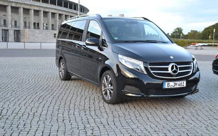 VIP Transfer from Berlin to Leipzig by Mercedes V-Class