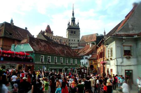 Private Tour from Pitesti to Sighisoara and The Old Town of Sibiu