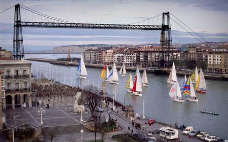 Bilbao: Luxury River Sailing & Wine Tasting from Getxo