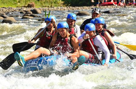 White Water River Rafting Class III-IV from La Fortuna-Arenal
