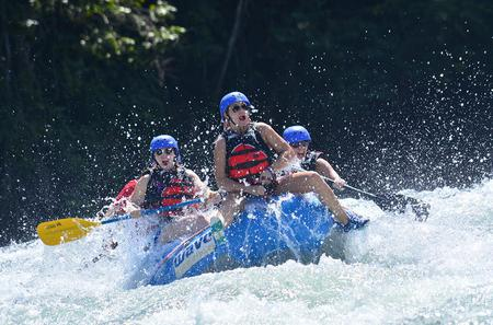 White Water River Rafting Class III-IV from San Jose to Arenal