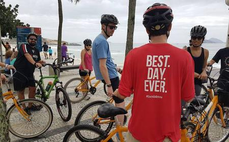 Rio de Janeiro: Carioca Sunset Bike Tour with a Local