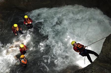 Canyoning at Saxeten from Interlaken