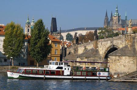 1-Hour Vltava River Cruise in Prague