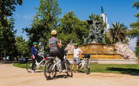 Santiago: Private Historical Hike & Bike City Tour
