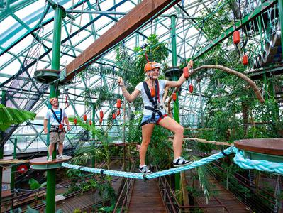 Cairns Highlights + Cairns ZOOm and Wildlife Dome Ropes Course