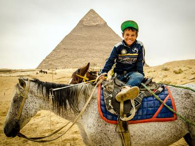 Pyramids Tour by Camel or Horse