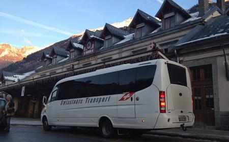 Transfer from Geneva to Chamonix