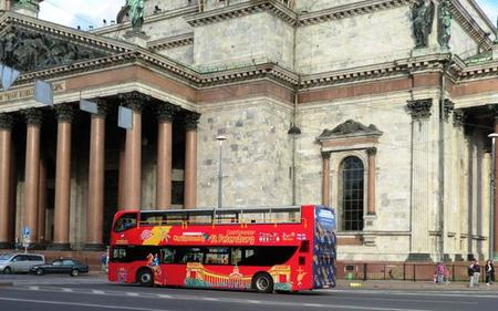 St Petersburg City Sightseeing Hop-On, Hop-Off Tour