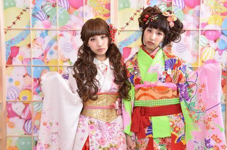 Harajuku-style Kimono and Photoshoot Experience