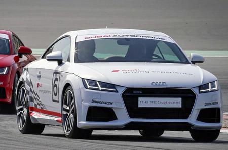 Audi TT Track Tester at Dubai Autodrome