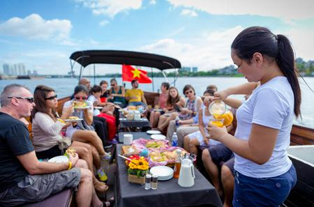 Saigon River Breakfast Cruise in Ho Chi Minh City