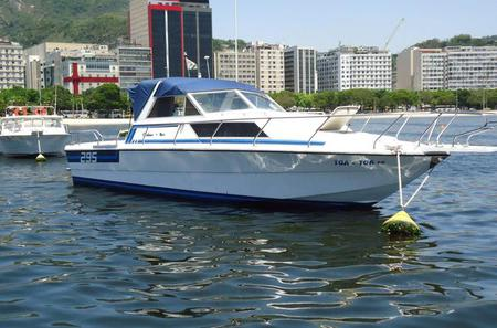 Private Small-Group Motorboat Tour in Rio de Janeiro