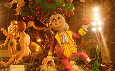 Barcelona: Las Fallas Festival with Transfer